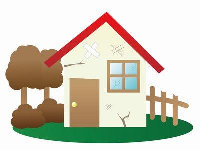 住まなくなった家の老朽化の加速と倒壊に関する知識